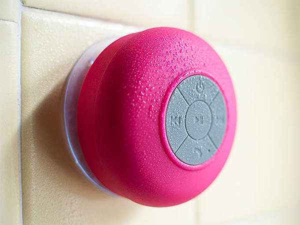 Bluetooth Shower Speaker - 4 Colors: Dotzila on sale for $18, I like blue