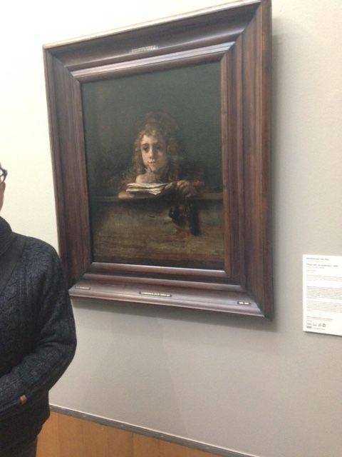 Rembrandt van rijns zoon: Titus