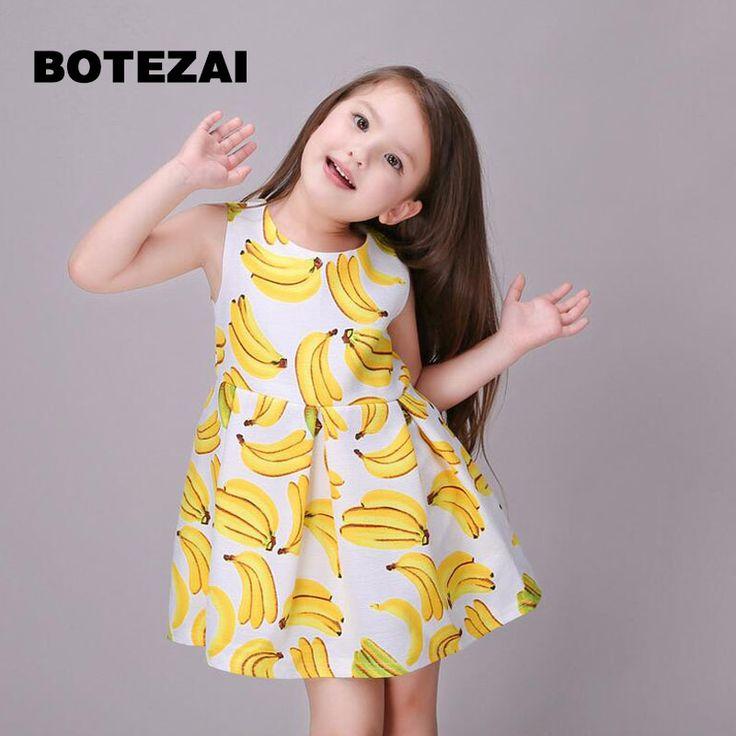 Baby Girl Princess Dress 3-8 Years Kids Sleeveless Summer & Spring Dresses for Toddler Girl Children Sequined Fashion Clothing #Affiliate