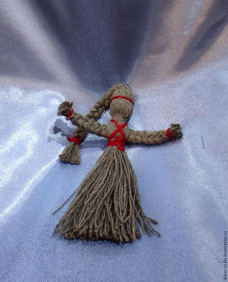 Кукла оберег из ниток своими руками мастер класс