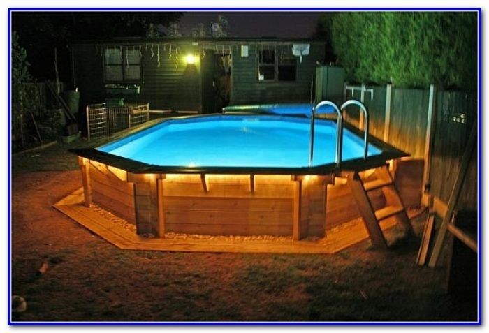 Above Ground Pool Wood Deck Kits Small Above Ground Pool Swimming Pools Backyard Above Ground Swimming Pools