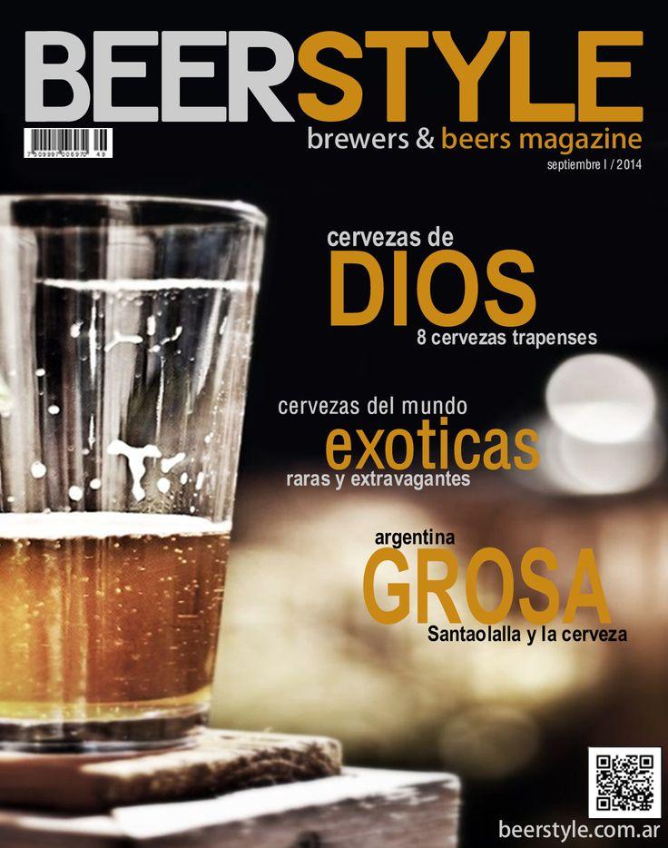 BEERSTYLE Edicion Septiembre 2014 Link : http://www.beerstyle.com.ar/