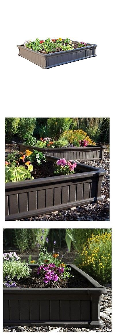 Baskets Pots and Window Boxes 20518: Lifetime 4 X 4 Raised Garden Bed Brown 18 High Walls Easy To Assembly - New -> BUY IT NOW ONLY: $59.89 on eBay!