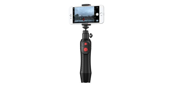 IK Multimedia's iKlip Grip Pro is a multifunction camera stand for iPhone. Buy online now at apple.com.