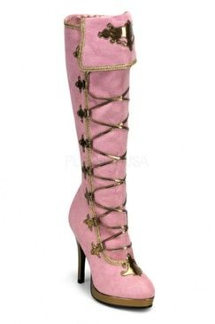 if i were the lead singer of a rock band or married to a rock star....I'd wear these :-)