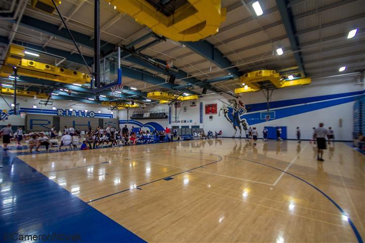 Rialto High School Gym – Basketball Courts – Rialto, California