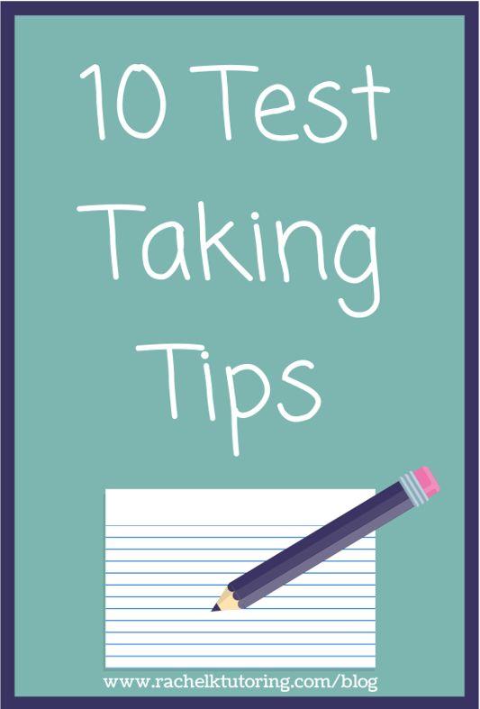 Self Help-Taking Tests