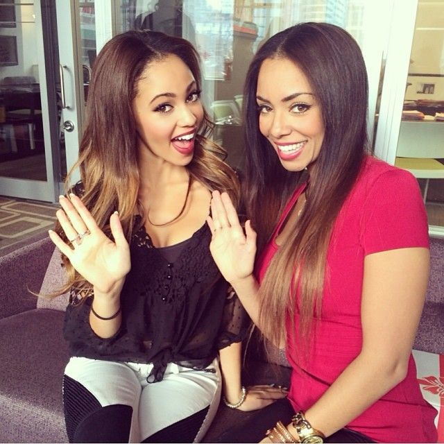 Vanessa Morgan Instagram Bestie Sister ️ Beauty