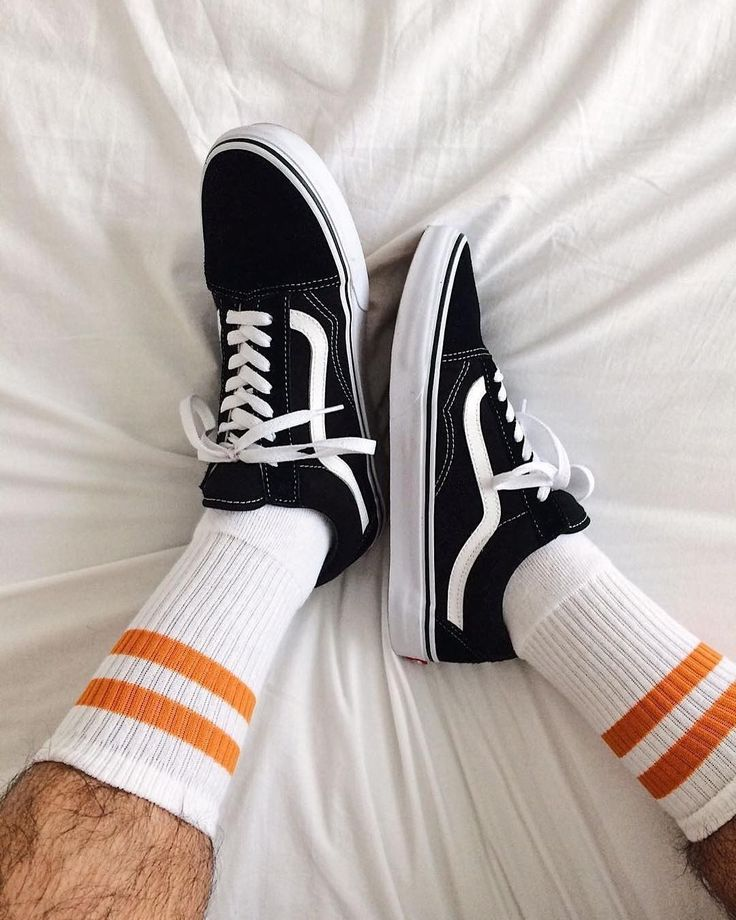 "8,370 Likes, 24 Comments - Urban Outfitters Men's (@urbanoutfittersmens) on Instagram: ""High socks + Vans. Always a good idea. | #UOMens | @tplemos | @Vans Old Skool Sneaker - SKU…"""
