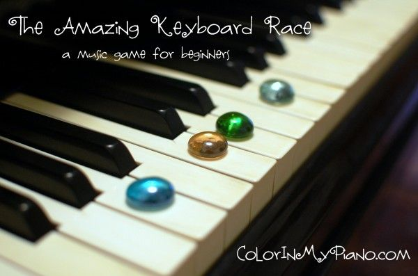 A simple -- but fun! -- keyboard game to play for beginner piano students.
