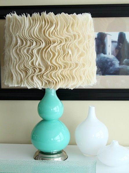 Anthropologie Lamp Shade DIY