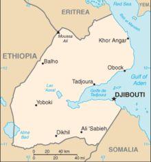 Yibuti o Djibouti, en África, es un pequeño país cuyas aguas están bañadas por el Mar Rojo.  Djibouti, la capital, tiene aspecto colonial, herencia de la presencia francesa en el pasado. Los sitios más destacados para ver son el Mercado Central y el Palacio Presidencial.