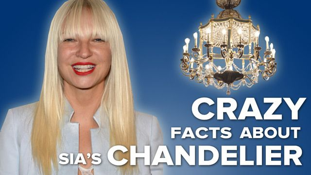 Crazy Facts About Sia's 'Chandelier' video