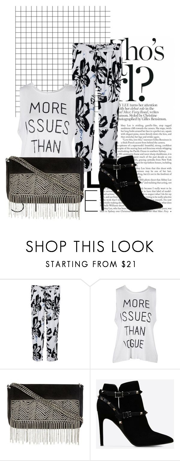 """Return to the Blue Lagoon"" by junglequeen84 ❤ liked on Polyvore featuring Valentino"