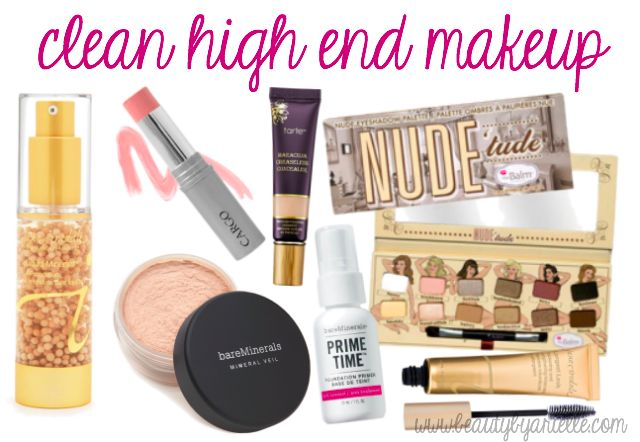 Looking for clean, low toxic high end makeup? Here is a list of products that your body will thank you for later!
