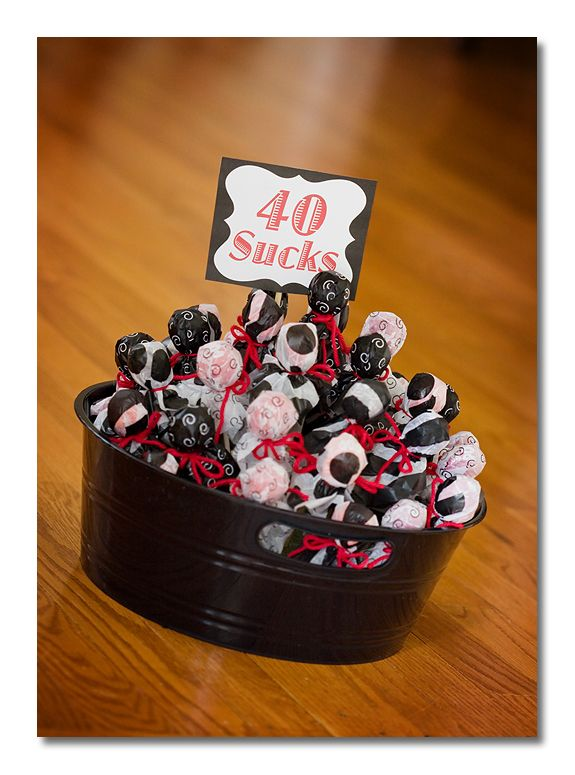 40th birthday gift: 40Th Bday, Birthday Parties, Gifts Ideas, Candy Bar, 60Th Birthday Gifts For Her, 40Th Birthday Gifts, Parties Ideas, Birthday Centerpieces, Birthday Ideas