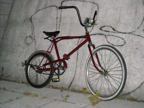 Ostalgie-Fahrrad-Tuning - MIFA-Klapprad #1