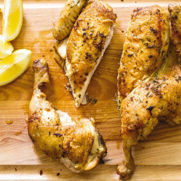 Spatchcock Chicken America S Test Kitchen