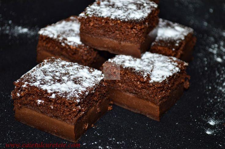 Prajitura desteapta cu ciocolata | CAIETUL CU RETETE