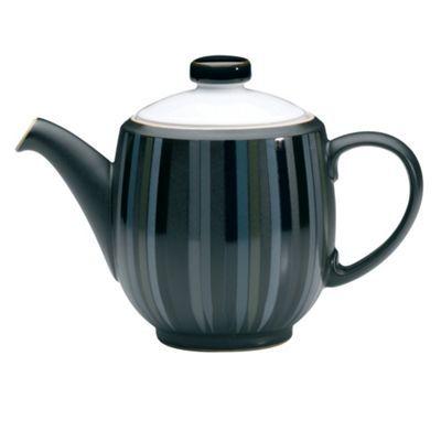 Denby Denby 'Jet' striped teapot- at Debenhams.com