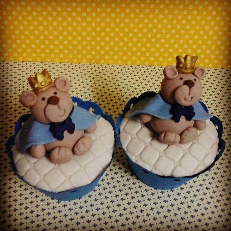 cupcake ursinho principe