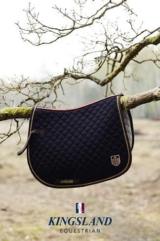 www.pegasebuzz.com | Equestrian Fashion : Kingsland, winter 2014 - saddle pad