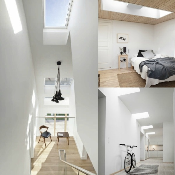 VELUX windows and blinds   via Hege in France