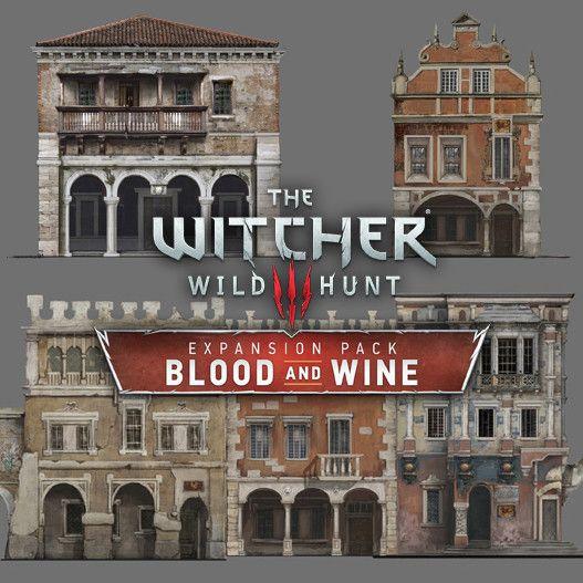 The Witcher 3:Wild Hunt - Blood & Wine Buildings, Andrzej Dybowski on…