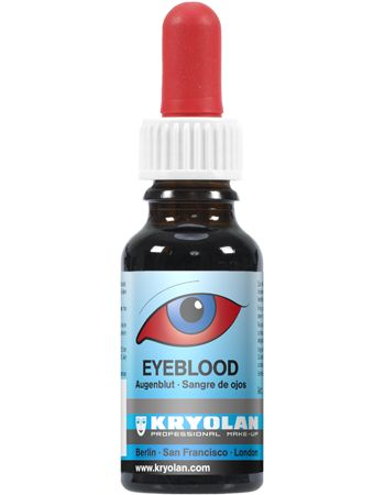 Kryolan Special Effects - Eyeblood 20 ml - Artificial Blood Effects #kryolan #specialeffects #SFX