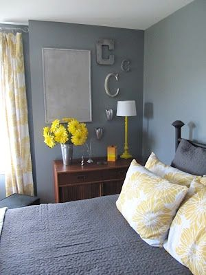 Find This Pin And More On Diy Gray And Yellow Young Adult Bedroom