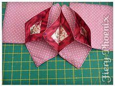 Resultado de imagen para fold n stitch wreath tutorial