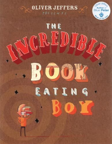 9780007182312,The Incredible Book Eating Boy,JEFFERS OLIVER,Book,,The mouth-watering new book from acclaimed author illustrator, Oliver Jeffers.Henry loves books. but