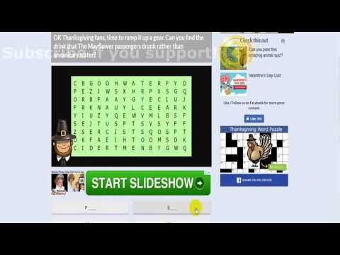 Thanksgiving Quiz Answers Videofacts 100 Score Digicoinworld