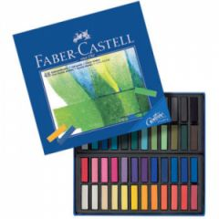 Faber Castell Creative Studio Toz Pastel Boya 48 Renk Yarım Boy