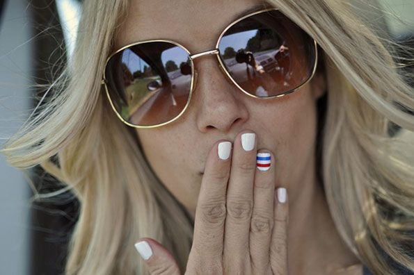 Root for the USA World Cup Team With These Awesome, Americana-Themed Manis | USA! USA! USA!
