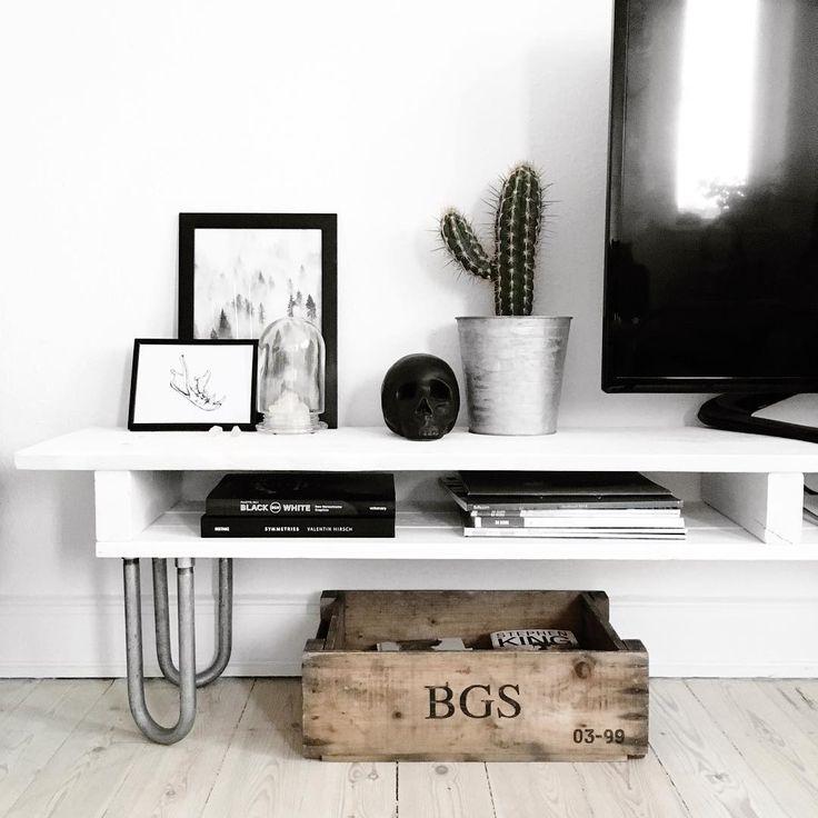 ... Tv Bord p? Pinterest Pallet entertainment centers, Tv kommode og Tv