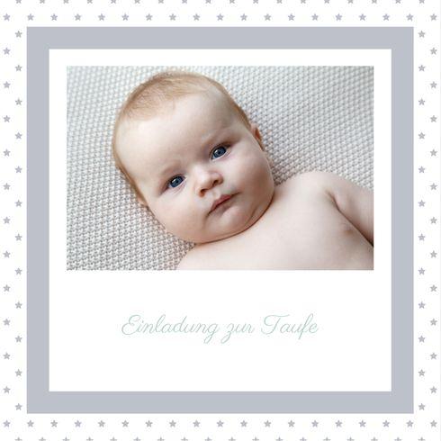 Taufeinladung Tradition Sterne By Mr And Mrs Clynk Für Rosemood.de #Taufe # Einladungskarten