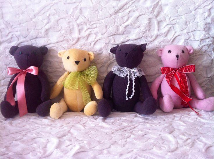 CARLA 9 - Handmade Teddy Bears