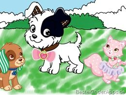 Emily Erdbeer Malbuch App Strawberry Shortcake Jumbo Coloring Book App (3)