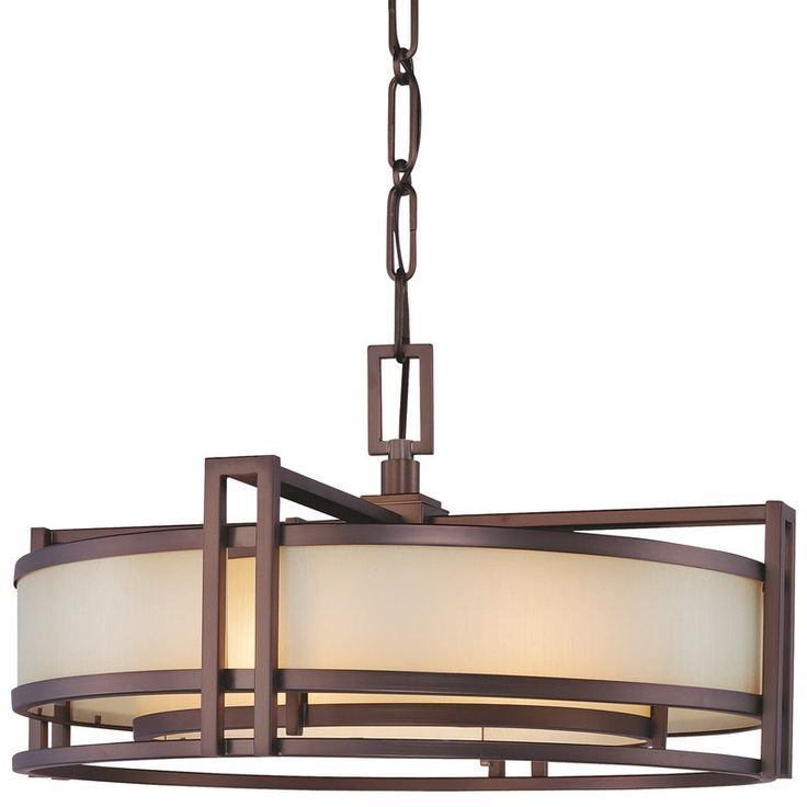 buy the cimarron bronze direct shop for the cimarron bronze 3 light drum pendant from the underscore collection and save