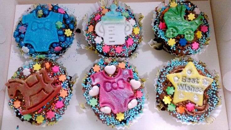 Baby Theme Cupcakes from Zucker Amor