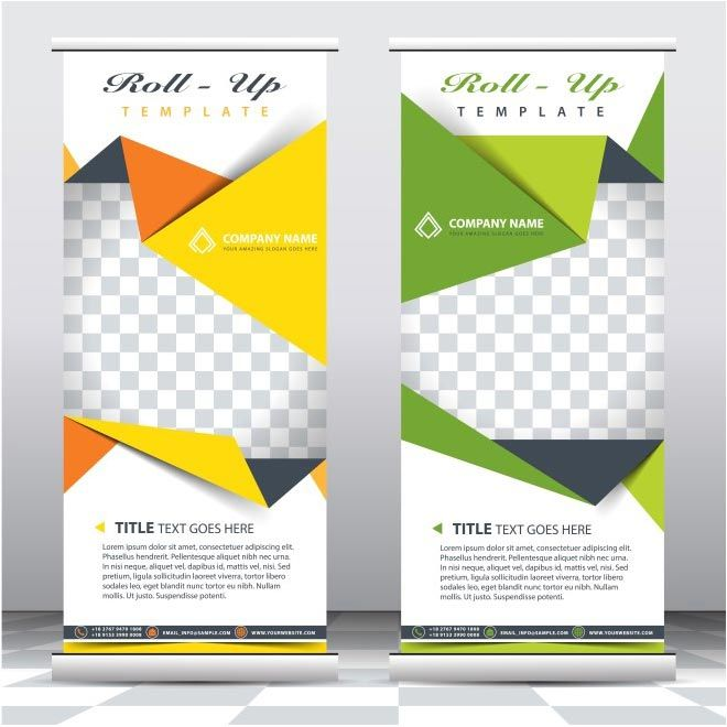 Roll Up brochure - free vector download for commercial use Download free vector graphic & images | cgvector