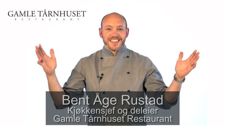 VideoCard av Bent Åge Rustad - kjøkkensjef på Gamle Tårnhuset Restaurant