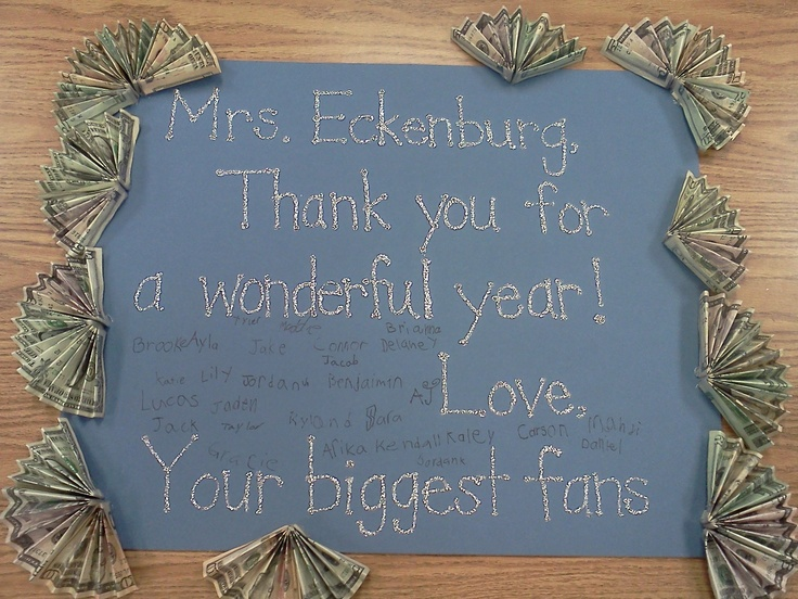 End of the year gift for the teacherYears Gift, Gift Ideas, Teaching Ideas,  Plaque
