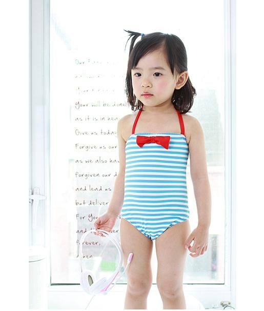 cute little girl's swimsuit