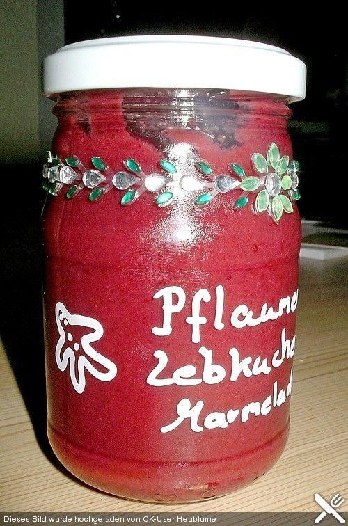 Weihnachtliche Pflaumen - Lebkuchen - Marmelade (Rezept mit Bild) | Chefkoch.de