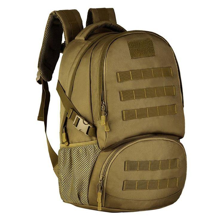 35L Military Backpack/Tactical Gear Molle Student School Bag Assault Backpack/Rucksack Bag for Shotting Hunting Camping Hiking