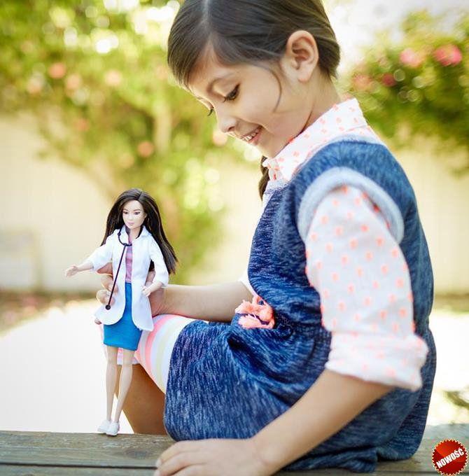 #Lalka #Barbie uwielbia ambitne wyzwania, dlatego jako #weterynarz zapewni zwierzętom najlepszą możliwą opiekę! Weterynarze troszczą się o zdrowie i dobre samopoczucie zwierząt i ich właścicieli.