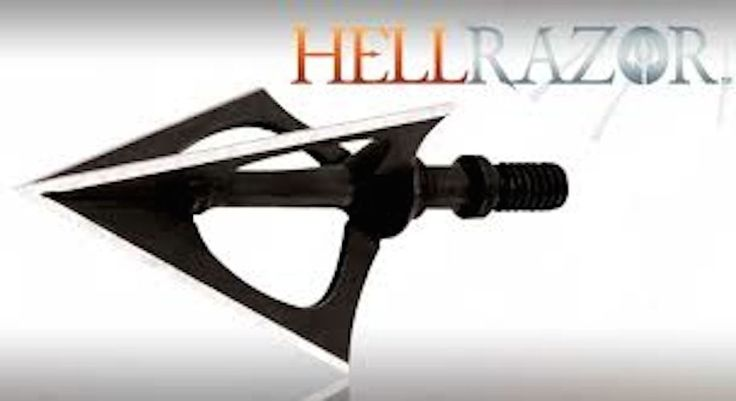 NAP Hellrazor Broadheads 3 pack 100 Gr Hell razor Broad head made in usa