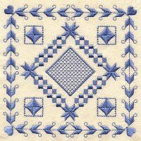 Free Hardanger Patterns - Free Cross Stitch Related Embroidery